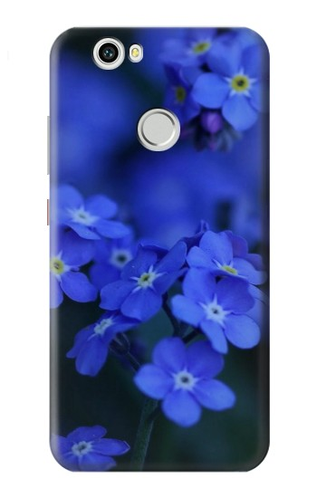 Printed Forget me not Huawei nova Case
