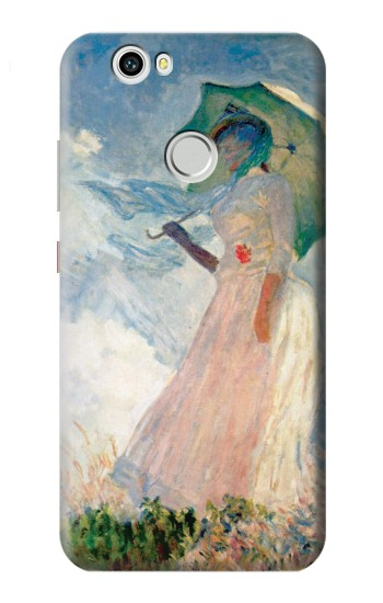 Printed Claude Monet Woman with a Parasol Huawei nova Case