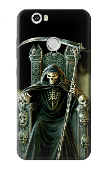 Printed Grim Reaper Skeleton King Huawei nova Case