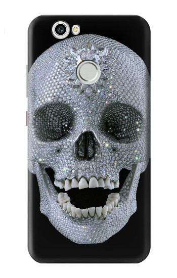 Printed Diamond Skull Huawei nova Case