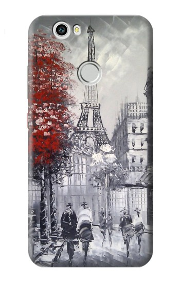 Printed Eiffel Painting of Paris Huawei nova Case