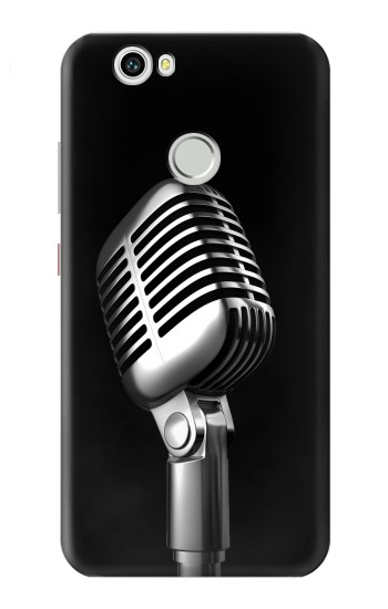 Printed Retro Microphone Jazz Music Huawei nova Case