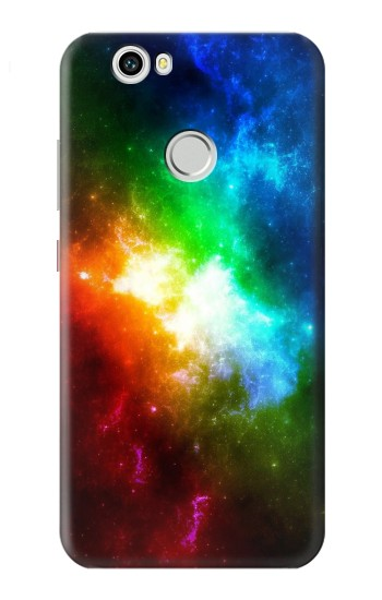 Printed Colorful Rainbow Space Galaxy Huawei nova Case