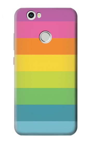 Printed Rainbow Pattern Huawei nova Case