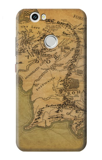 Printed The Lord Of The Rings Middle Earth Map Huawei nova Case