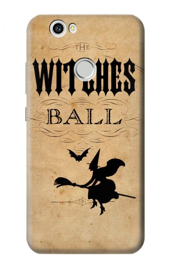 Printed Vintage Halloween The Witches Ball Huawei nova Case