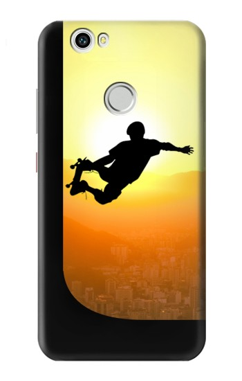 Printed Extreme Skateboard Sunset Huawei nova Case