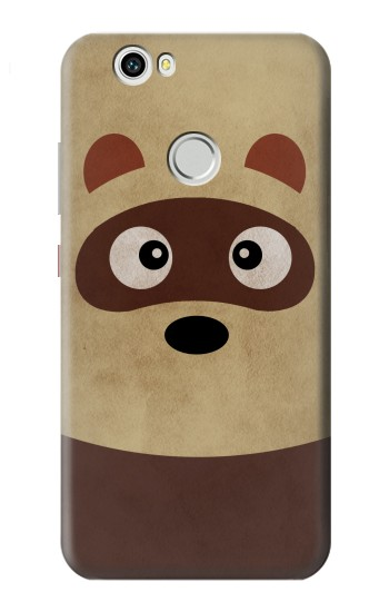 Printed Cute Cartoon Raccoon Huawei nova Case