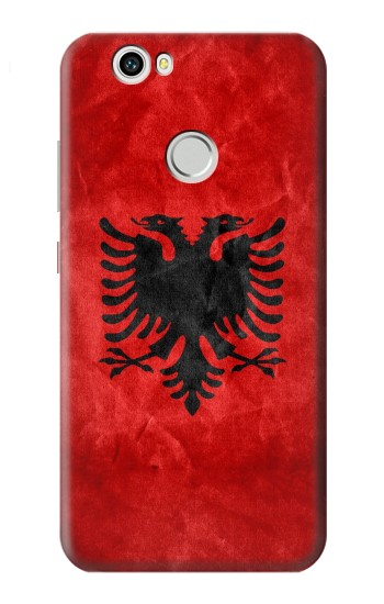 Printed Albania Red Flag Huawei nova Case