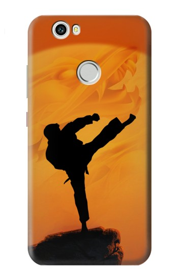 Printed Kung Fu Karate Fighter Huawei nova Case