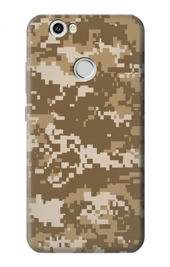 Printed Army Camo Tan Huawei nova Case