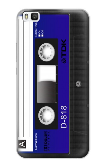 Printed Cassette Tape Huawei P8 Case