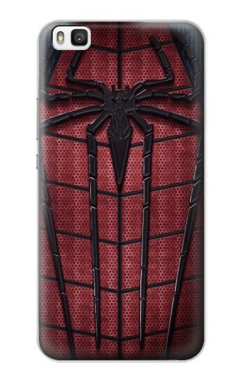 Printed Spider Suit Huawei P8 Case