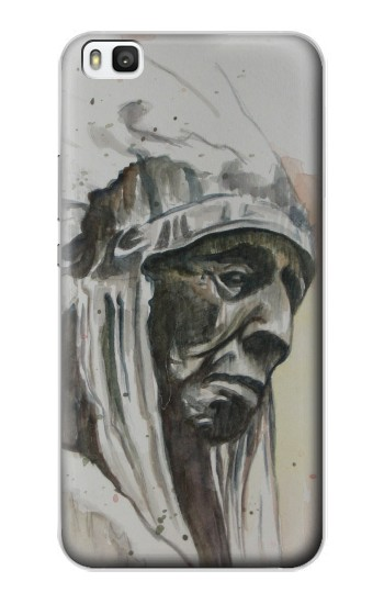 Printed Indian Chief Huawei P8 Case