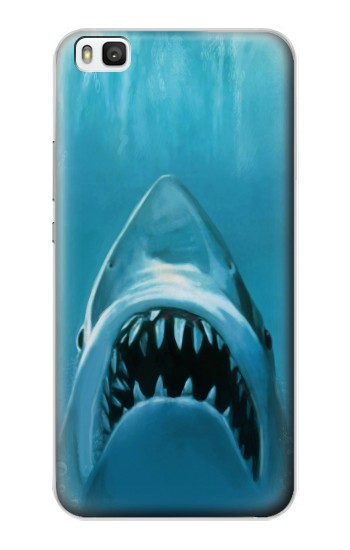 Printed White Shark Huawei P8 Case