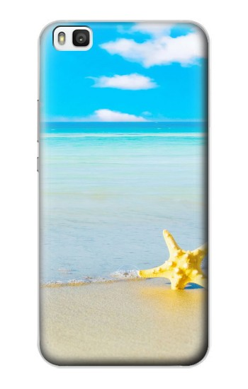 Printed Relax at the Beach Huawei P8 Case
