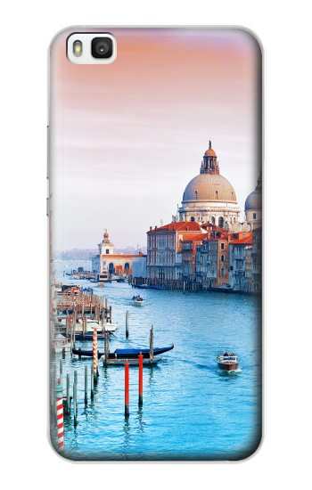 Printed Beauty of Venice Italy Huawei P8 Case