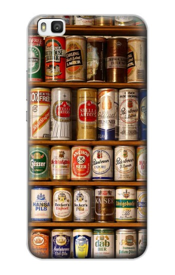 Printed Beer Cans Collection Huawei P8 Case