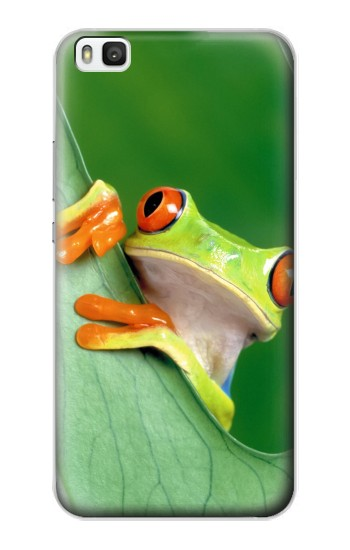 Printed Little Frog Huawei P8 Case