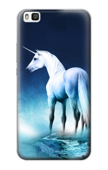 Printed Unicorn Horse Huawei P8 Case