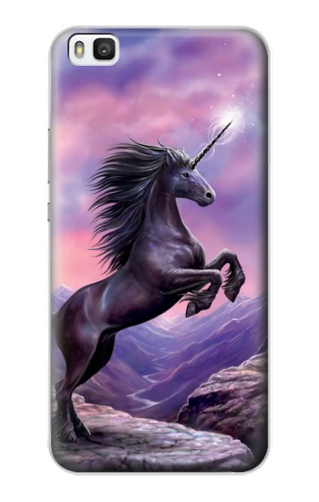 Printed Unicorn Fantasy Horse Huawei P8 Case