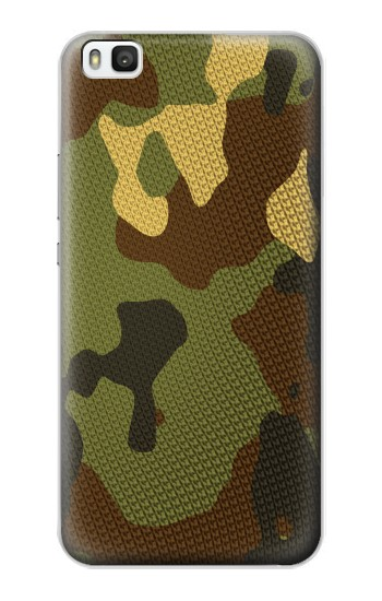 Printed Camo Camouflage Graphic Printed Huawei P8 Case