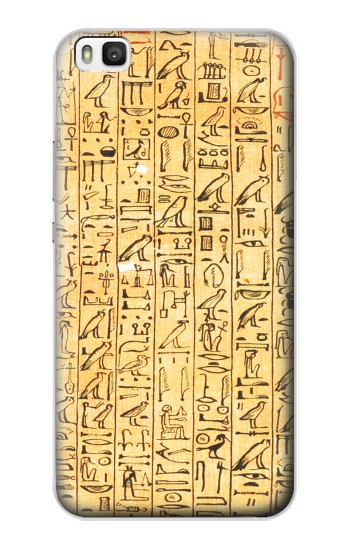 Printed Egyptian Coffin Texts Huawei P8 Case