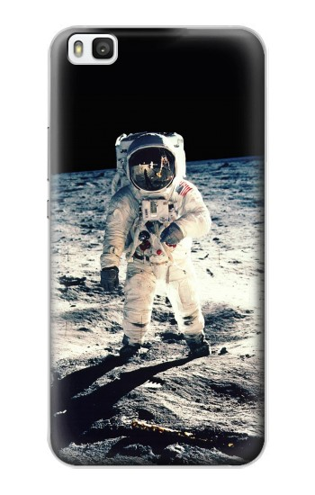 Printed Neil Armstrong First Man on The Moon Huawei P8 Case