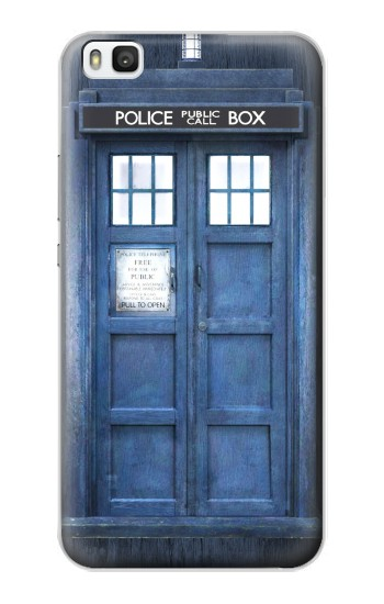 Printed Doctor Who Tardis Huawei P8 Case
