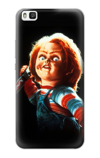Printed Chucky With Knife Huawei P8 Case