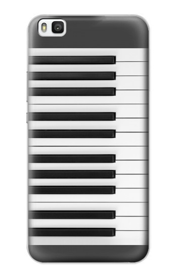 Printed One Octave Piano Huawei P8 Case