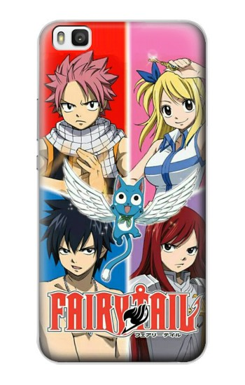 Printed Fairy Tail Member Huawei P8 Case
