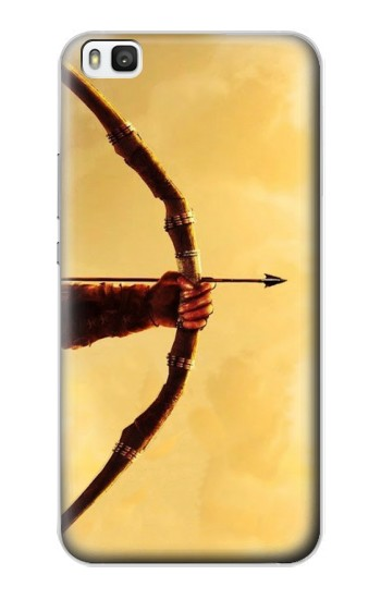 Printed Hunter Bow and Arrow Huawei P8 Case