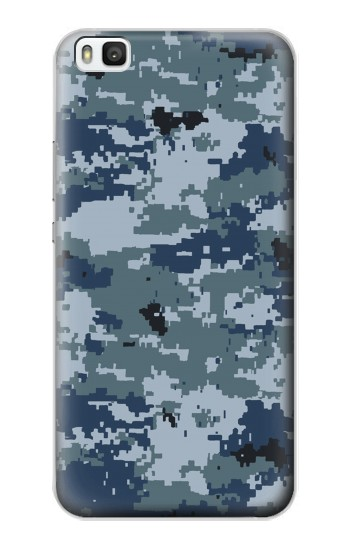 Printed Navy Camo Camouflage Graphic Huawei P8 Case