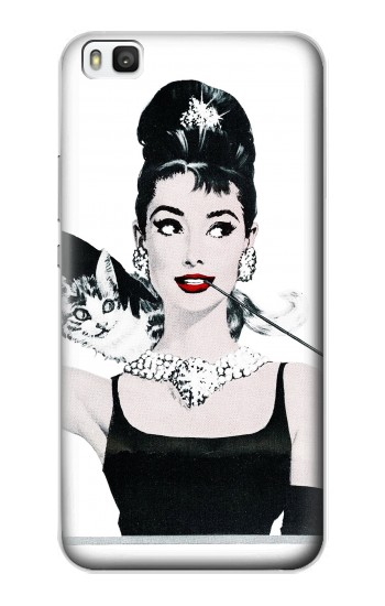Printed Audrey Hepburn Breakfast at Tiffany Huawei P8 Case