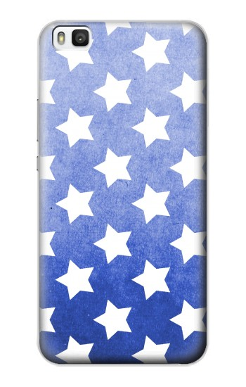 Printed Star Pattern Huawei P8 Case