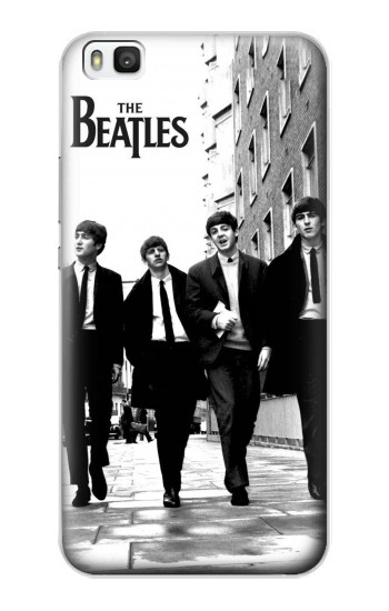 Printed The Beatles in London Huawei P8 Case