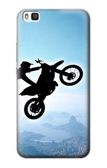 Printed Extreme Motocross Huawei P8 Case