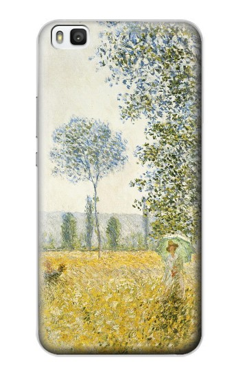 Printed Claude Monet Fields In Spring Huawei P8 Case