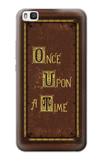 Printed Once Upon a Time Book Cover Huawei P8 Case