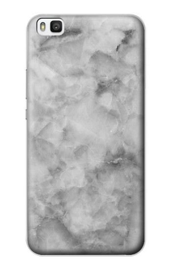 Printed Gray Marble Texture Huawei P8 Case