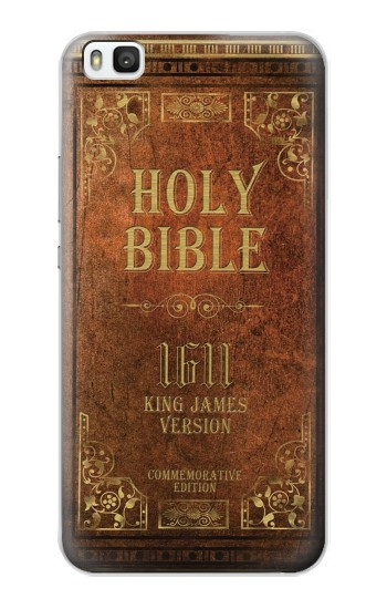Printed Holy Bible 1611 King James Version Huawei P8 Case