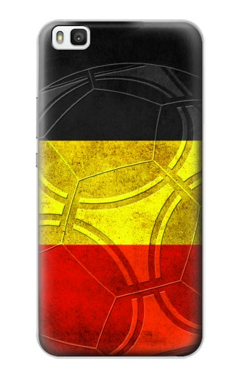 Printed Belgium Football Flag Huawei P8 Case