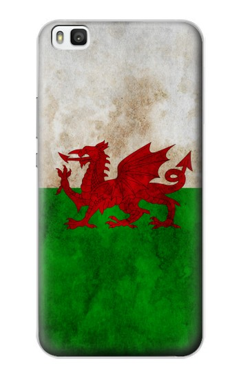 Printed Wales Red Dragon Flag Huawei P8 Case
