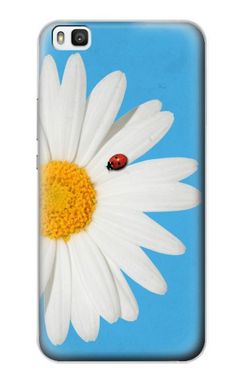 Printed Vintage Daisy Lady Bug Huawei P8 Case