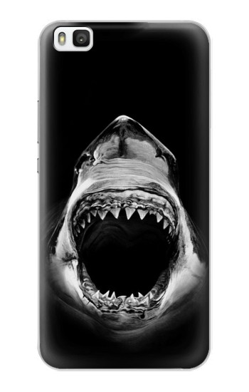 Printed Great White Shark Huawei P8 Case
