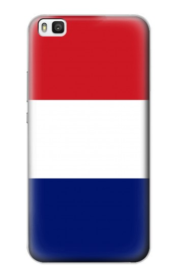 Printed Flag of France and the Netherlands Huawei P8 Case