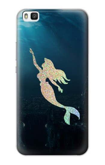 Printed Mermaid Undersea Huawei P8 Case