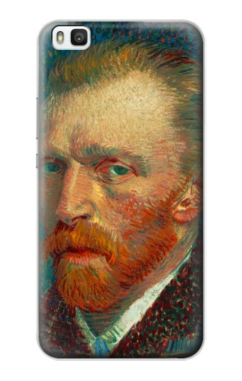 Printed Vincent Van Gogh Self Portrait Huawei P8 Case