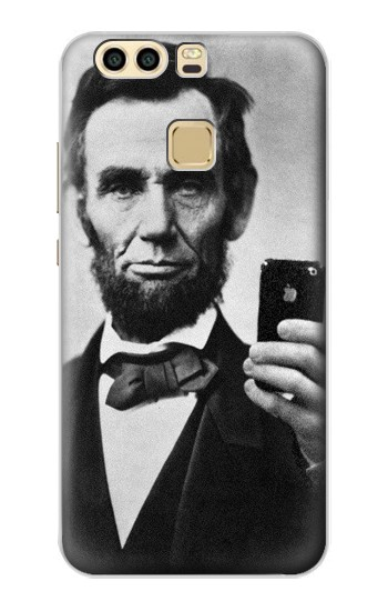 Printed Abraham Lincoln Huawei P9 Case